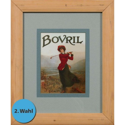 Bovril For Health, Strength and Beauty, - Exklusive Einrahmung 29 x 35 cm